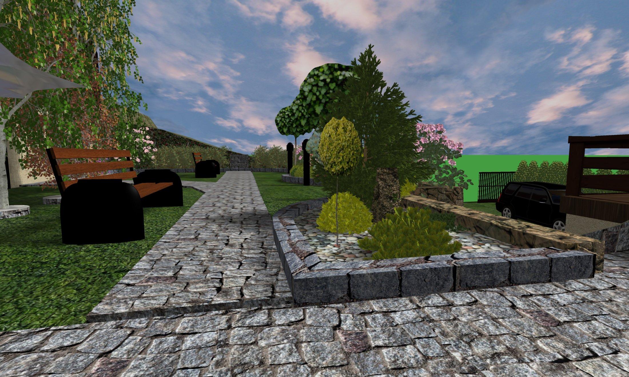 Widok ścieżki 1 Poziom